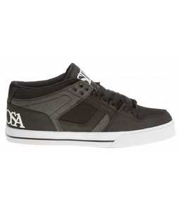 Osiris NYC83 Mid Vulc Skate Shoes Black/Subrosa