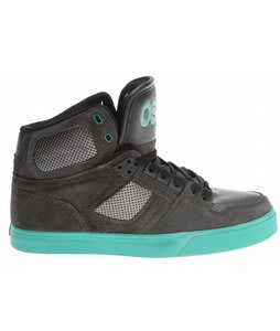 Osiris NYC 83 Vlc Skate Shoes Charcoal/Gunmetal/Teal
