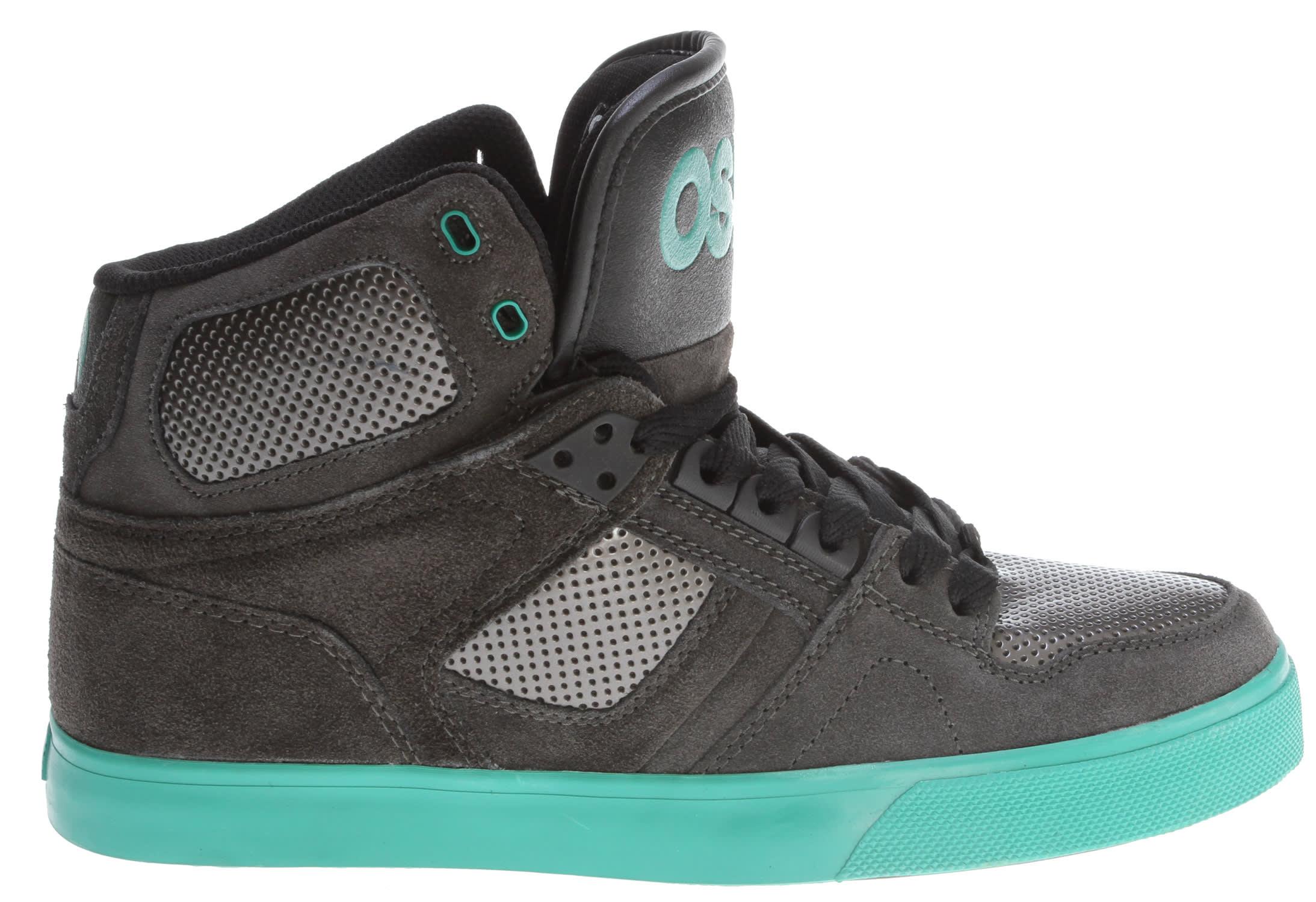 5b8864a3cd7 Osiris NYC 83 Vlc Skate Shoes Charcoal/Gunmetal/Teal