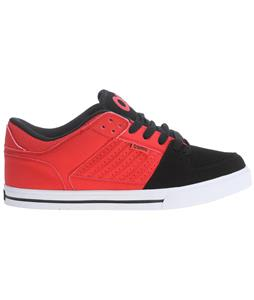Osiris Protocol Skate Shoes Red/White/Black