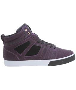 Osiris Raider Skate Shoes Purple/Black/White