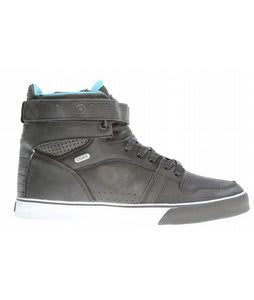 Osiris Rhyme RMX Skate Shoes Black/Teal/White