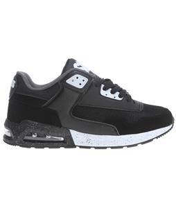 Osiris Uprise Shoes Black/White/Charcoal