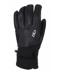 Outdoor Research Crave Ski Gloves Black