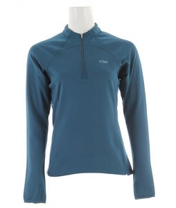 Outdoor Research Radiant LT Zip Top Fleece Peacock