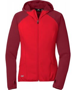 Outdoor Research Rumor Fleece Hoodie Salsa/Retro Red