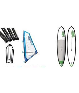 Starboard WindSUP Blend Asap SUP Paddleboard w/ Starboard Windsup Clasic Rig