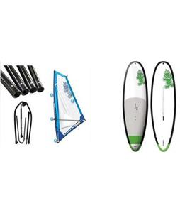 Starboard WindSUP Whopper Asap SUP Paddleboard w/ Starboard Windsup Clasic Rig