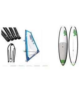 Starboard WindSUP Atlas Asap SUP Paddleboard w/ Starboard Windsup Clasic Rig
