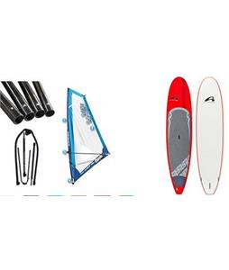 Amundson Cross SUP Paddleboard w/ Starboard Windsup Clasic Rig