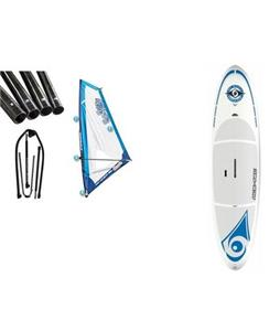 Bic SUP Wind Paddleboard w/ Starboard Windsup Clasic Rig