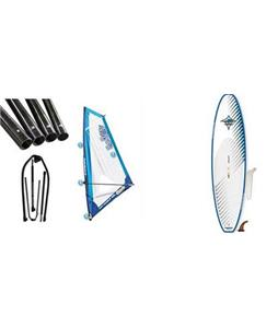JP Australia Windsurf SUP Paddleboard w/ Starboard Windsup Clasic Rig