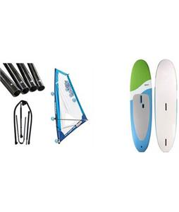 Next Softsup/Windsurfer SUP Paddleboard w/ Starboard Windsup Clasic Rig