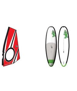 Starboard WindSUP Whopper Asap SUP Paddleboard w/ Aerotech Windsup Rig