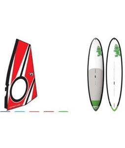 Starboard WindSUP Atlas Asap SUP Paddleboard w/ Aerotech Windsup Rig