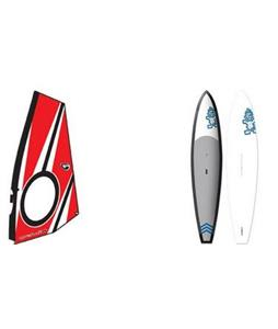 Starboard Windsup Freeride A.S.A.P. Planing Windsurf Board w/ Aerotech Windsup Rig