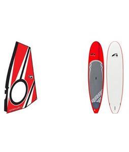 Amundson Cross SUP Paddleboard w/ Aerotech Windsup Rig