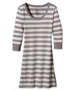 Patagonia 3/4-Sleeved Au Bateau Dress Woodshed Stripe/Feather Grey Heather