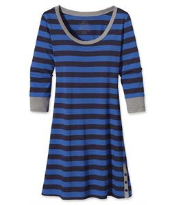 Patagonia 3/4-Sleeved Au Bateau Dress Woodshed Stripe/Oasis Blue