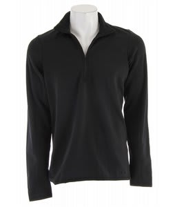 Patagonia Capilene 4 Expedition Weight Zip-Neck Baselayer Top Black