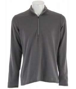 Patagonia Capilene 4 Expedition Weight Zip-Neck Baselayer Top Forge Grey - Narwhal Grey Xdye