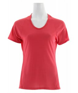 Patagonia Capilene 2 Lightweight T-Shirt Rhubarb/Cerise X-Dye