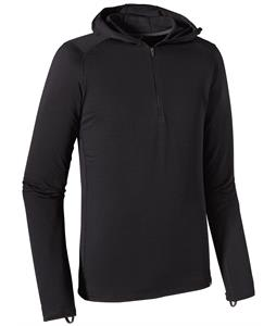 Patagonia Capilene Thermal Weight Zip-Neck Hoody Baselayer Top