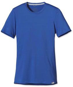 Patagonia Capilene 1 Silkweight Baselayer Top Glass Blue