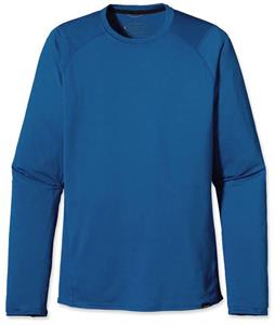 Patagonia Capilene 1 Silkweight Crew Baselayer Top Glass Blue