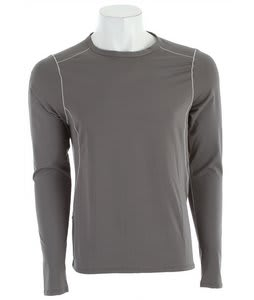 Patagonia Capilene 1 Silkweight Stretch Crew Baselayer Top Narwhal Grey