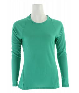 Patagonia Capilene 2 LW Crew Baselayer Top Brilliant Green/Light Aquarium Xdye