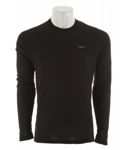 Patagonia Capilene 2 LW Crew Baselayer Top Black