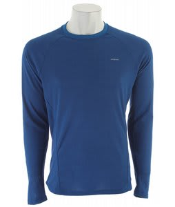 Patagonia Capilene 2 LW Crew Baselayer Top Channel Blue/Bandana Blue Xdye