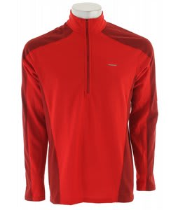 Patagonia Capilene 3 MW Zip-Neck Baselayer Top Red Delicious/Molten Lava