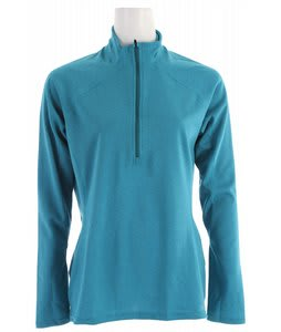 Patagonia Capilene 3 Midweight Zip-Neck Baselayer Top Ozonic Green - Volcanic Blue Xdye