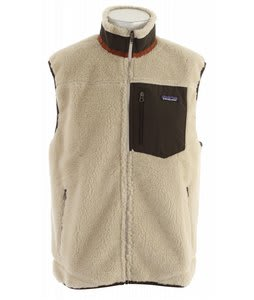 Patagonia Classic Retro X Vest Natural/Dark Walnut