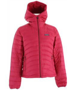 Patagonia Down Sweater Full-Zip Hoody Jacket Magenta