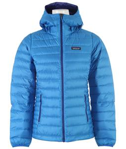 Patagonia Down Sweater Hoody Jacket Andes Blue