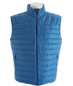 Patagonia Down Sweater Vest Bandana Blue