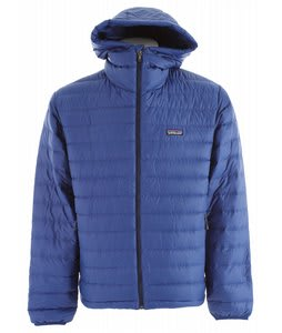 Patagonia Down Sweater Full Zip Hoody Jacket Channel Blue