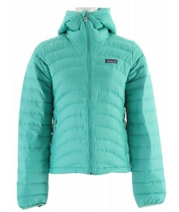 Patagonia Down Sweater Full-Zip Hoody Jacket Light Aquarium