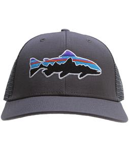 Patagonia Fitz Roy Trout Trucker Cap Forge Grey