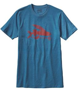Patagonia Flying Fish Cotton/Poly T-Shirt