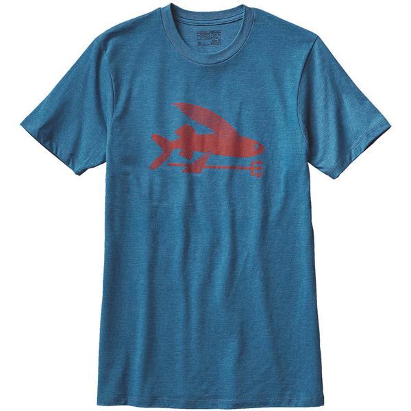 Patagonia Flying Fish Cotton/Poly T-Shirt