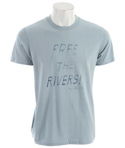 Patagonia Free The Rivers T-Shirt Alpine Mist