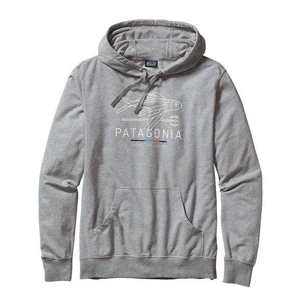 Patagonia Geodesic Flying Fish Lightweight Pullover Hoodie