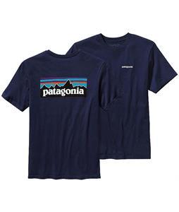 Patagonia Hybrid P-6 T-Shirt Classic Navy