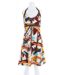 Patagonia Iliana Halter Dress River Queen/Pickled Ginger
