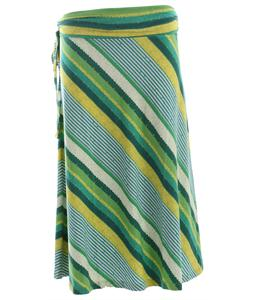 Patagonia Kamala Skirt Nakashima Stripe/Teal Green