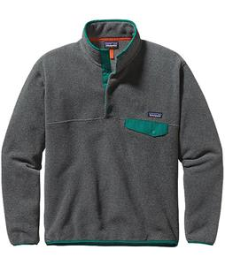 Patagonia Lightweight Synchilla Snap-T Pullover Fleece Nickel/Borealis Green